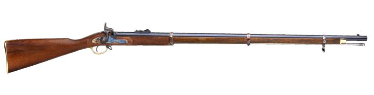 E is for Enfield Rifle